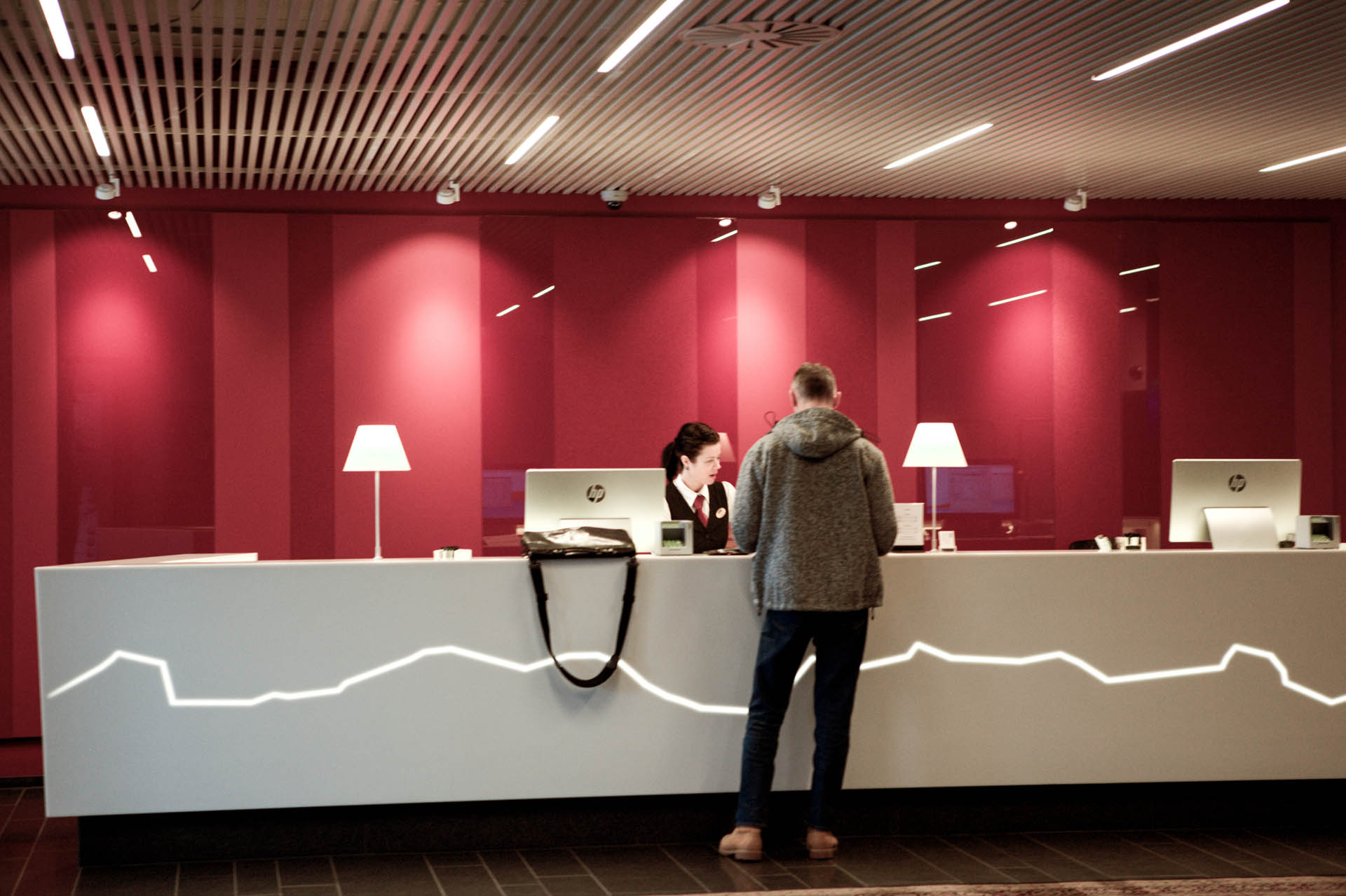 Reception frontdesk